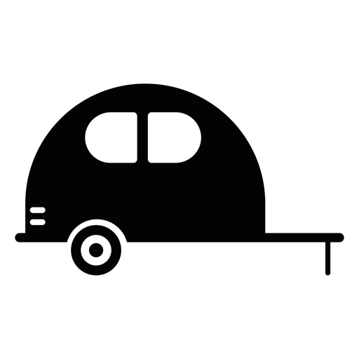 Caravan vehicle flat icon Transparent PNG