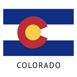 Bandera del estado de colorado
