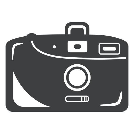 Compact camera grey icon Transparent PNG