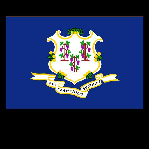Connecticut state flag Transparent PNG