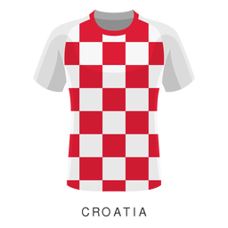 Croatia world cup football shirt cartoon
