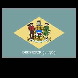 Bandera del estado de Delaware