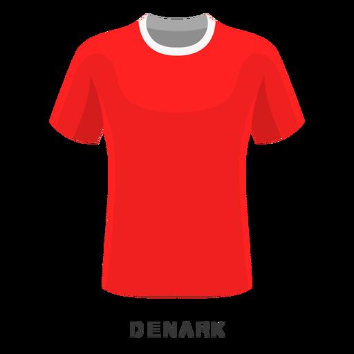 88e18429b83a5 Dinamarca copa mundial de fútbol camiseta de dibujos animados Transparent  PNG