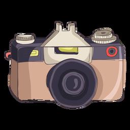 Desenhos animados da câmera digital
