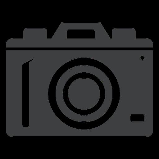 Ícone cinza câmera digital Transparent PNG