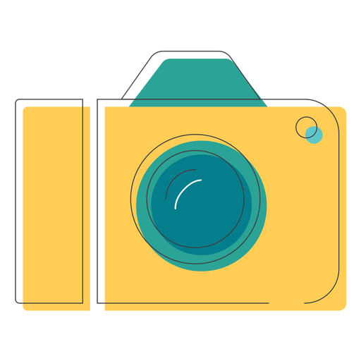 Icono de camara digital Transparent PNG
