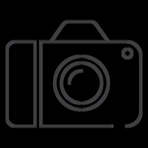 Digital camera stroke icon Transparent PNG