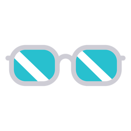 Doctor glasses icon