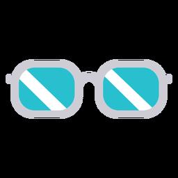 Doutor, óculos, ícone