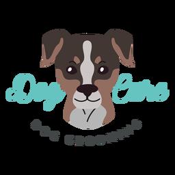 Logotipo del cuidado del perro
