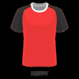 Dibujos animados de camiseta de fútbol de copa mundial de egipto