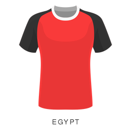 Egypt world cup football shirt cartoon