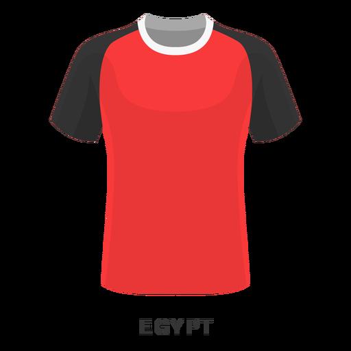 Desenhos animados da camisa do futebol da copa do mundo de Egipto Transparent PNG
