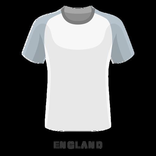 Inglaterra copa mundial de fútbol camiseta de dibujos animados Transparent PNG