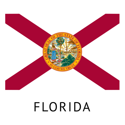 Florida state flag Transparent PNG