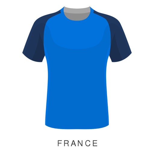 France world cup football shirt cartoon Transparent PNG