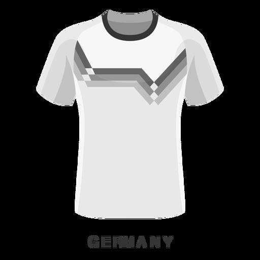 Germany world cup football shirt cartoon Transparent PNG