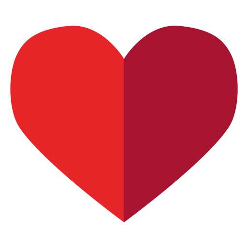 Half toned heart sticker Transparent PNG