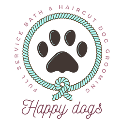 Happy dogs logo