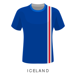 Iceland world cup football shirt cartoon