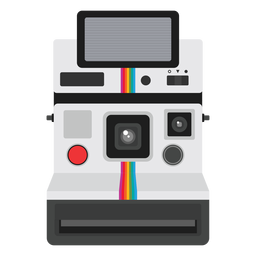 Instant picture analog camera graphic