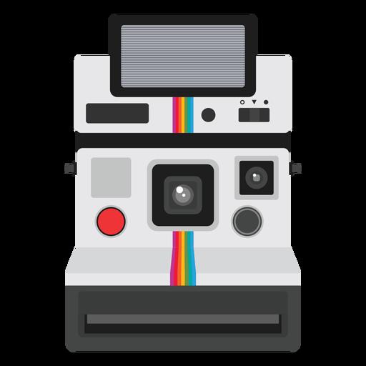 Gráfico de cámara analógica de imagen instantánea