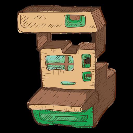 Boceto de cámara analógica de imagen instantánea Transparent PNG
