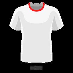 Dibujos animados de camiseta de fútbol de copa mundial de Irán