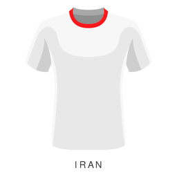 Iran world cup football shirt cartoon