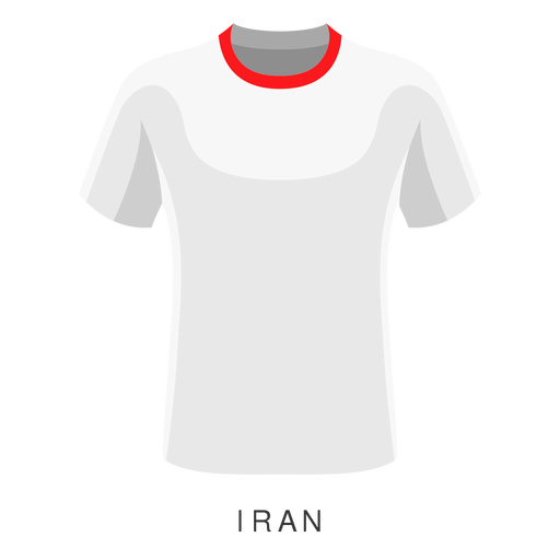 Iran world cup football shirt cartoon Transparent PNG