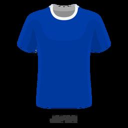 Dibujos animados de camiseta de fútbol de la copa mundial de japón