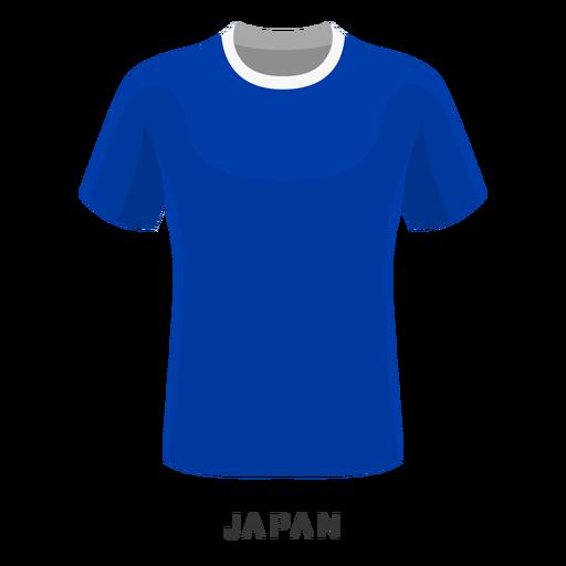Desenhos animados da camisa do futebol do campeonato do mundo de Japão Transparent PNG