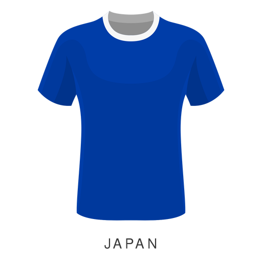 Japan world cup football shirt cartoon Transparent PNG