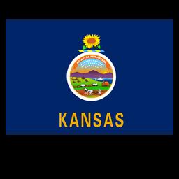 Bandeira do estado de Kansas