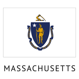 Bandeira do estado de Massachusetts