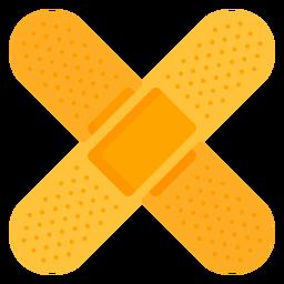 Ícone de ajuda de banda médica