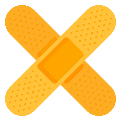 Medical band aid icon Transparent PNG
