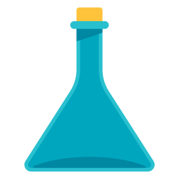 Medical flask icon