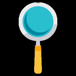 Icono de lupa médica