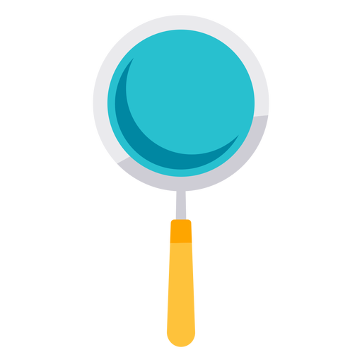 Medical magnifying glass icon Transparent PNG