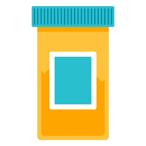 Medical pill bottle icon Transparent PNG