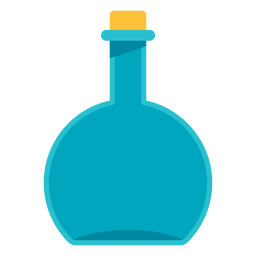 Medical round flask icon