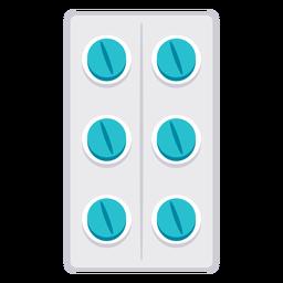 Ícone de bolha de medicamento