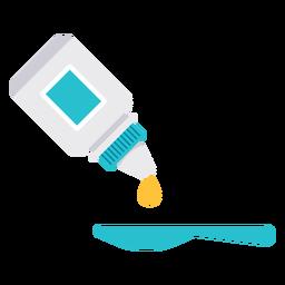 Icono de dosis de medicina