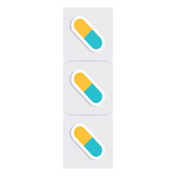 Ícone de comprimidos de medicamentos