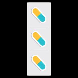 Ícone de comprimidos de medicamento