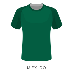 Mexiko-Weltcupfußball-Hemdkarikatur