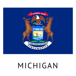 Bandeira do estado de Michigan