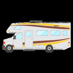 Vector de vehículo autocaravana