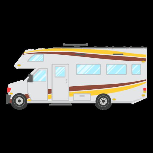 Motorhome vehicle vector